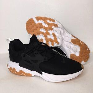 New Nike React Presto Running Shoes Black White 9